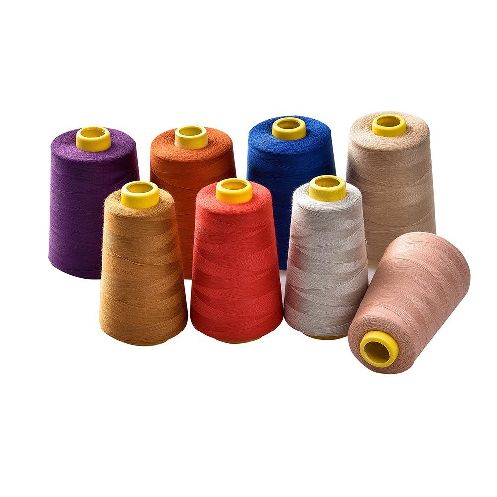 ST03-1 отличная дешевая нить 30S, Текстильная швейная нить из полиэстера, 5000 м, 402 крученая полиэфирная швейная нить