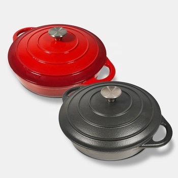 Amazon Multi-Function Colourful Nonstick Cast Iron Cookware Sets