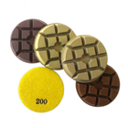 Resin Pads Diameter 76mm Resin Bond Concrete Polishing Pads