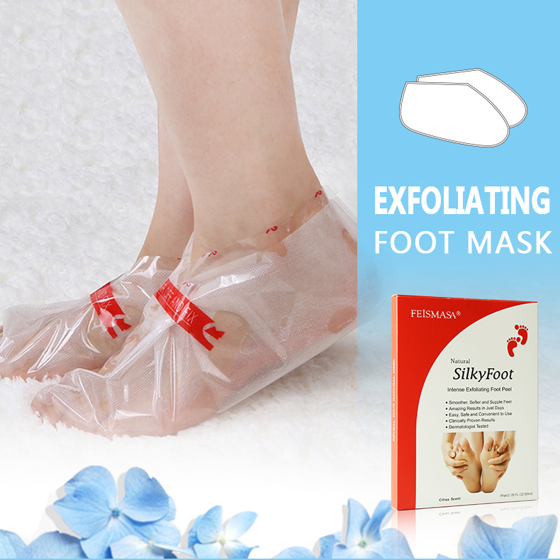 Best Removes Dead Skin Nourishing Removal Exfoliating Peel Foot Mask For Feet