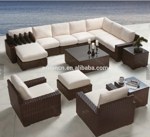 China design home modern vintage sectionals couch living room/garden outdoor furniture office rattansets / wicker sofas