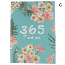 Лидер продаж, органайзер, А4, ноутбук и журналы, сделай сам, 365 дней, книга для записей, Kawaii, ежемесячный недельный график, книга для письма(Китай)