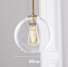 Clear size 20cm
