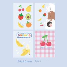 Kawaii 3 отверстия мини-органайзер для записной книжки с отрывными листами Binder Sketchbook аксессуары для журналов Дневник Школьные принадлежности ...(Китай)