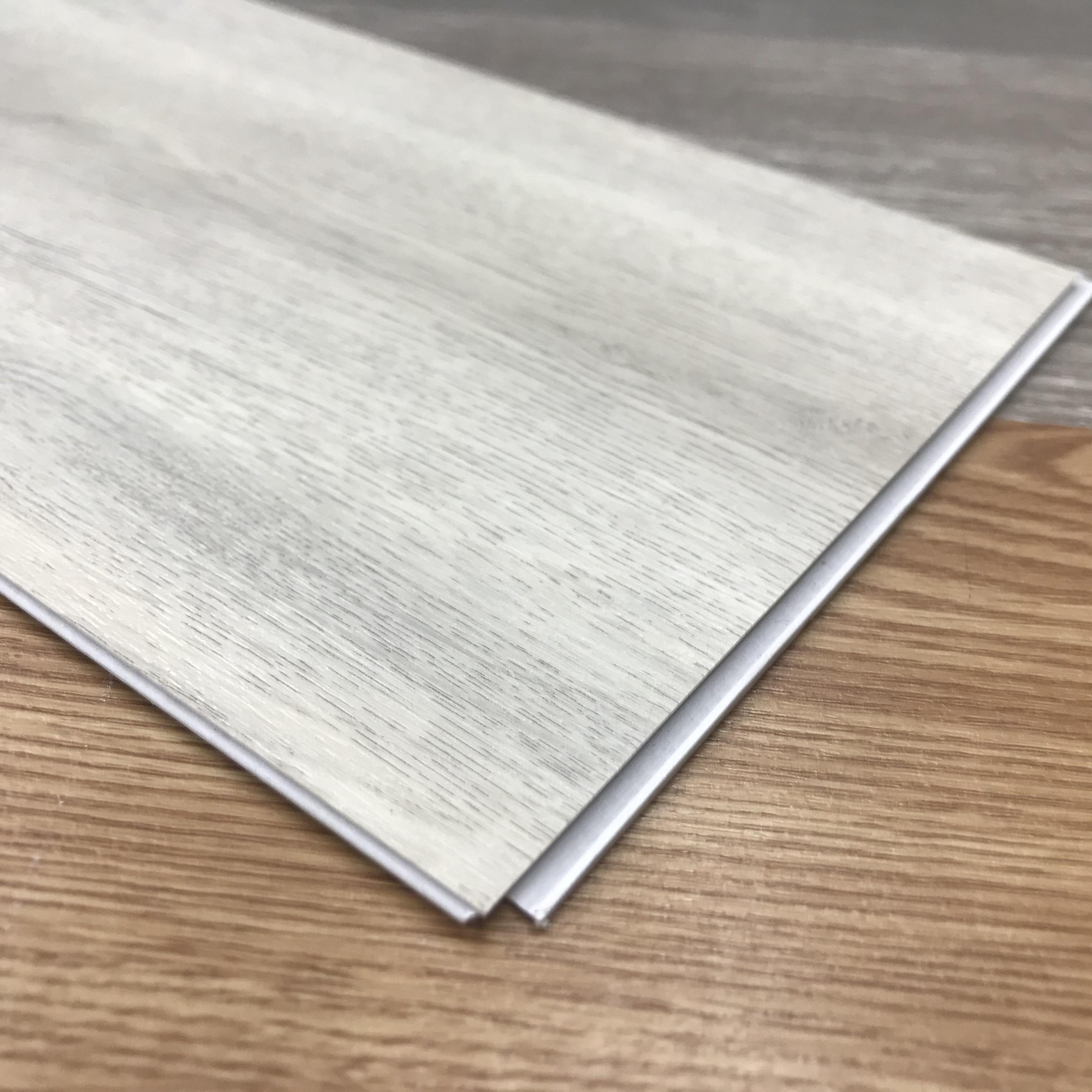 9 дюймов виниловая плитка широкий нажмите PVC виниловое напольное покрытие НПЦ плитка с подложка