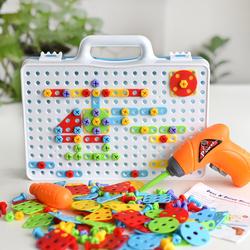 3D пластиковый пазл, цветная головоломка танграмма, детская интеллектуальная игра на заказ
