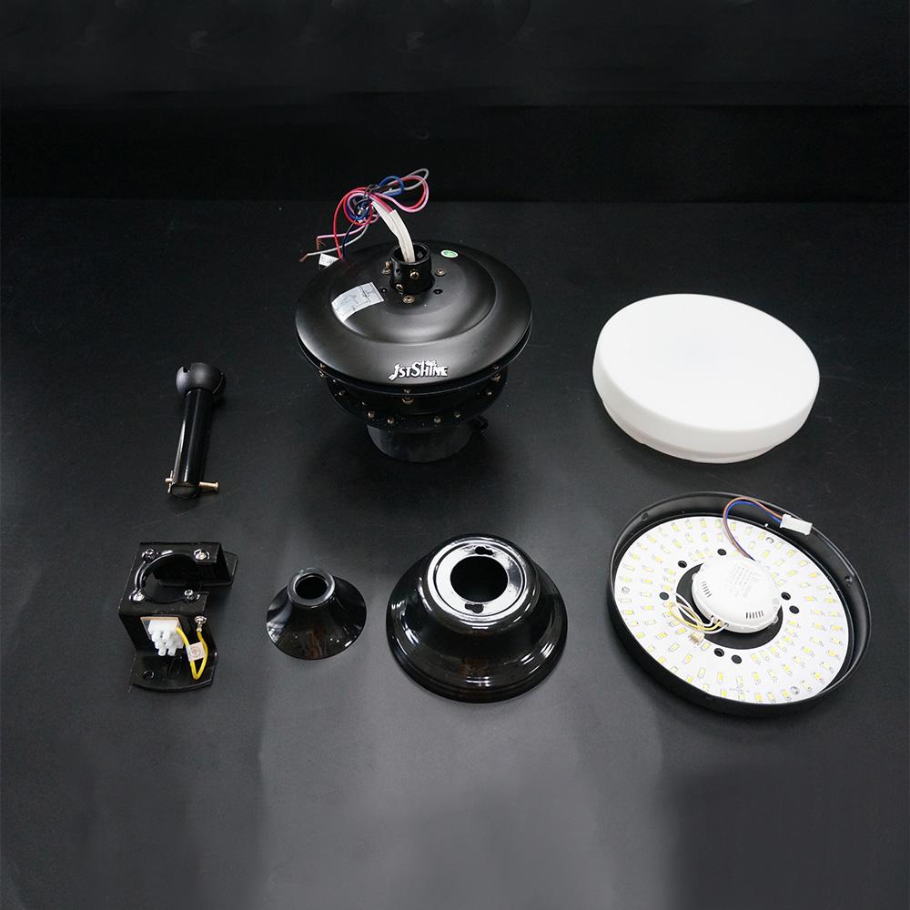 1stshine 60 дюймов современный дизайн 100% Медный двигатель низкий ватт 8 лопастей Электрический большой потолочный вентилятор