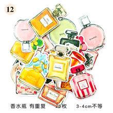 1 коробка милые розовые цветы классические Kawaii стильные граффити наклейки для мото автомобиля и чемодана наклейки для ноутбука Наклейка на ...(Китай)