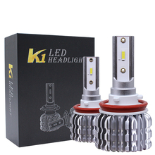 K1 AUTO LED Headlight4300k 6000k 80W di alta qualità CSP led H4 lampadina