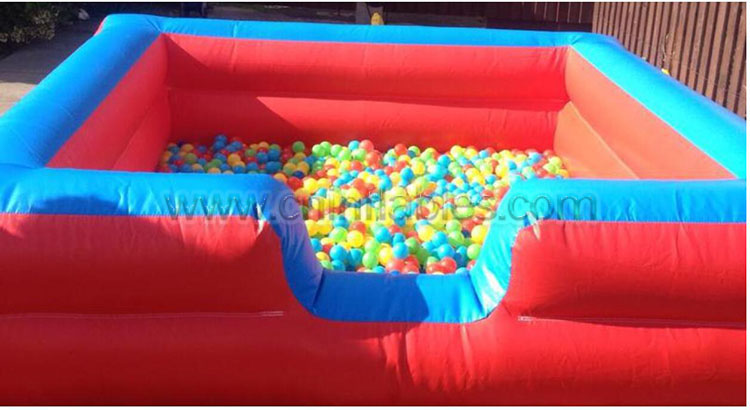 Orient Inflatables portable continuous indoor outdoor toddler inflatable ball pits pool