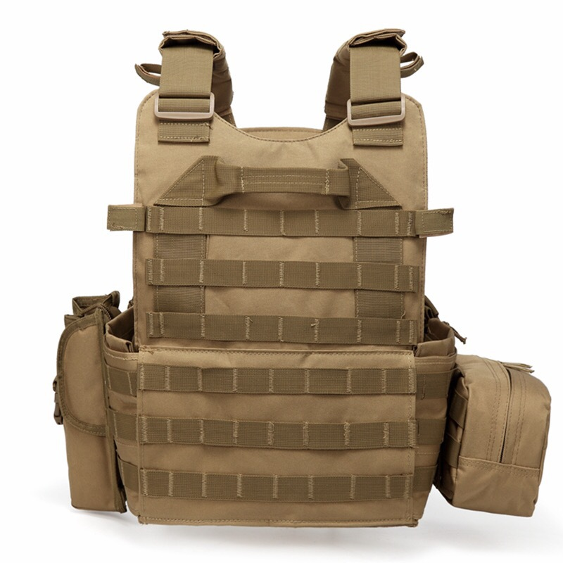 hot SturdyArmor Lightweight Outdoor Military Training Amphibious Combat Bulletproof Plate Carrier Tactical Army Vest
