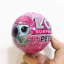 L.O.L.SURPRISE! 1 шт. куклы lol Surprise DIY Ручная глухая коробка модная модель кукла игрушка подарок девочка игрушки мяч капсула(Китай)
