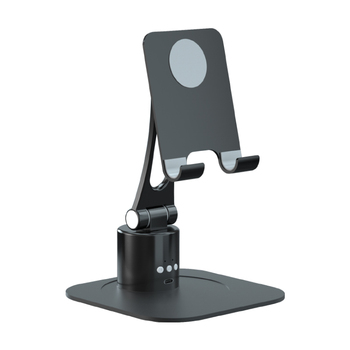 RK-C40 live steaming auto tracking flat phone holder with APP 360 rotation and AI face tracking tablet holder stand
