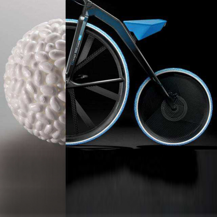 Изготовленные на заказ части новые стильные E-TPU шины для велосипедов, Etpu детские тележки и шины для инвалидных колясок