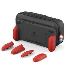 Аксессуары для Nintendo Switch, чехол, чехол для кожи, корпус, Coque Joycon Joy Con, игровой держатель для карт, жесткие элементы управления, защитные детали(Китай)