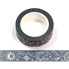 Silver Holographic Foil CMYK Starry Sky Washi Tape