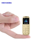 KECHAODA A26 Best selling finger size GSM dual SIM 32+32Mbt mobile phone