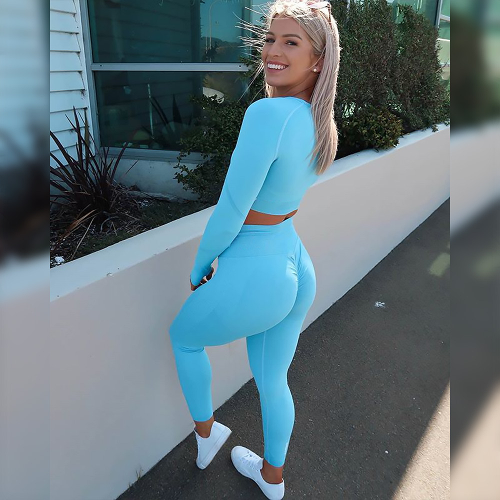 2021 New Fitness Apparel Brands Seamless Yoga Pants Praviate Label Sports Bra Leggings Womens Gym Wear Sets
