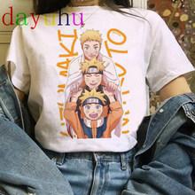 Naruto Akatsuki/Летняя футболка в стиле Харадзюку, футболка унисекс 90s, футболка с забавными героями японского аниме, уличная одежда в стиле хип-хоп...(Китай)