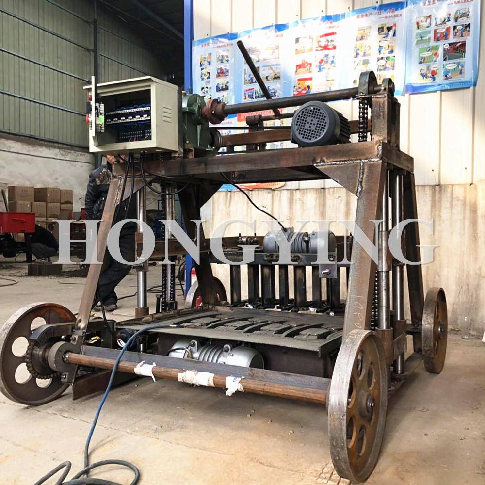 Mobile egg laying brick maker machine automatic brick making machine south africa
