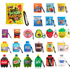 Hot Selling Earphone Accessories Case For Airpod 1/2 Sour Patch Candy Food Airpod Case Cover