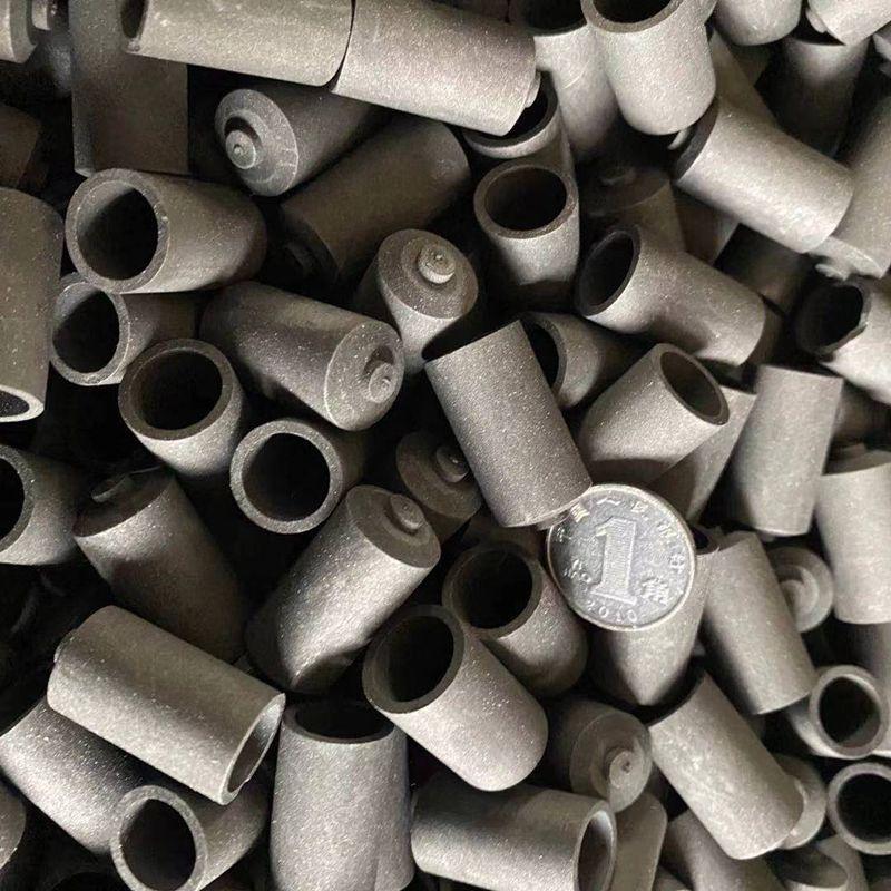 Графитовый тигель LECO для стали, для анализа кислорода и азота, спектральный чистый графитовый тигель для металлофабрики