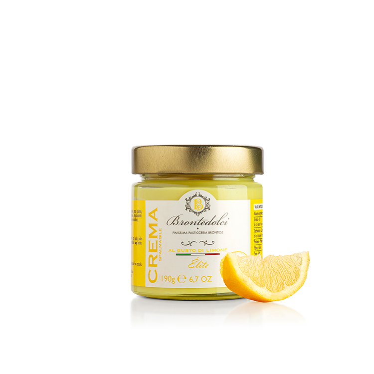 190 gr. Delicious Lemon Spread for bakery products filling wholesale