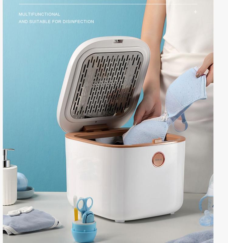 Most popular 10L  6 bottle  Baby Bottle UV Sterilizer Underwear sterilizer with Dryer