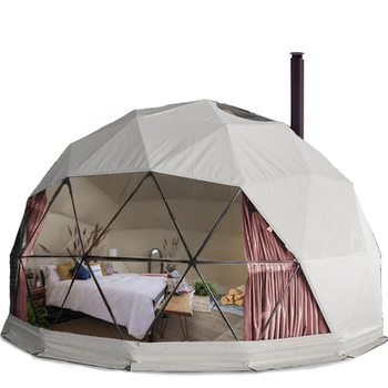 out door igloo yurt geodesic camping wind wall glamping dome tent domo garden dome dining tents