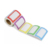 Colorful Self Adhesive Blank Print Name Tag Sticker Label Roll