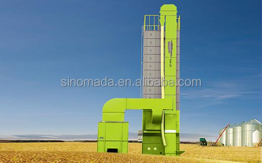 Высокопроизводительная машина для сушки пшеницы/риса/кукурузы, передвижная сушилка для зерна DC60/DC80