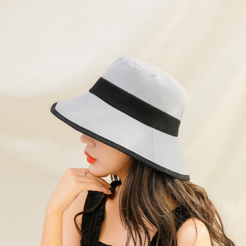 Luxury Fashion Cotton Designer Bucket Hat Women
