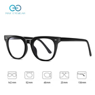 Phone BS2305 In Stock Fashion C Photochrpmic Lens Unisex Retro Computer Phone TR90 Rice Nail Frame Clear Glasses