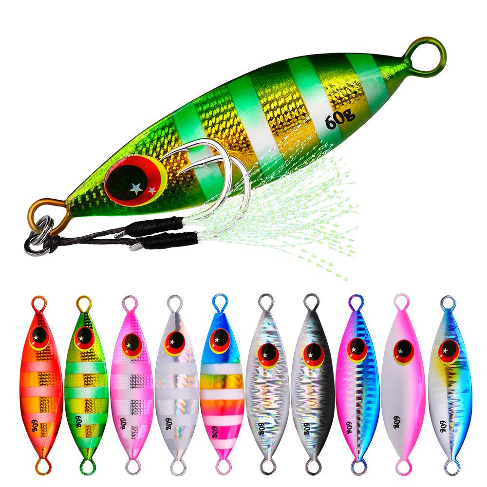 2 X 10g  LEAD FISH SPINNER LURE spinner bait