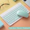 Hijau keyboard dan mouse