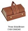 3 slots/brown