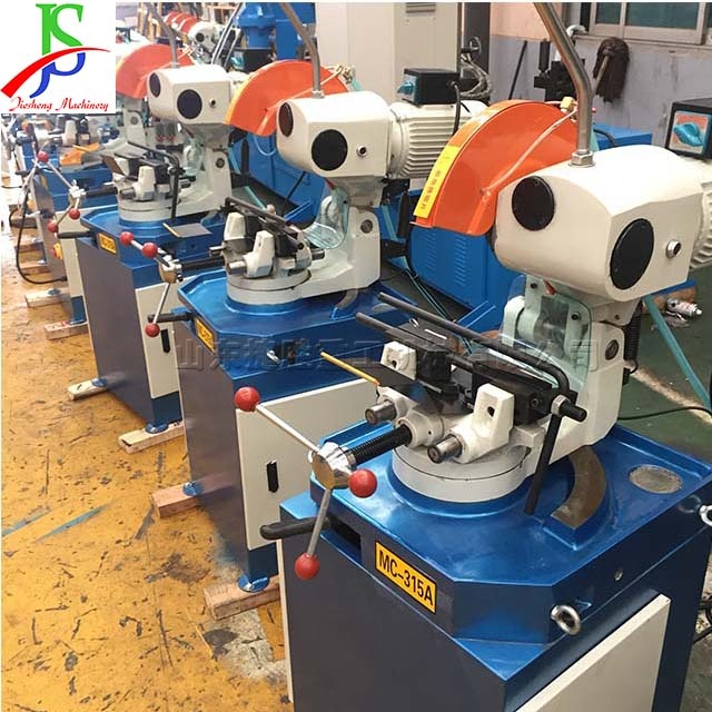 Table square pipe cutting machine high efficiency automatic stainless steel tube shearing machine