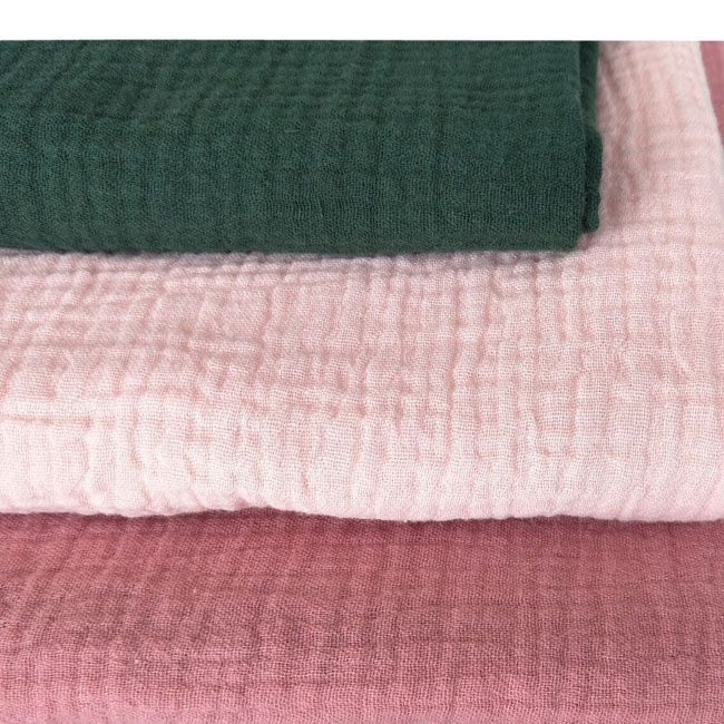 cotton muslin double gauze fabric for baby blanket
