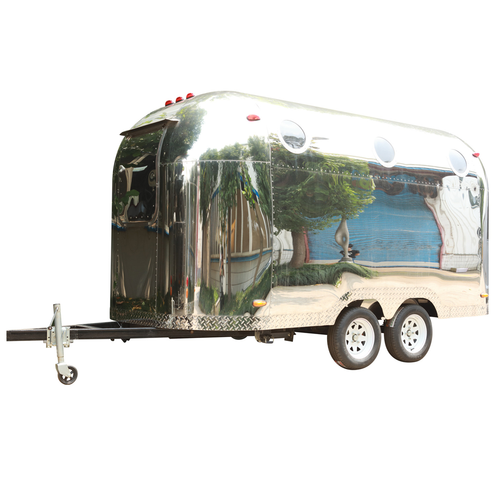 Airstream BBQ Food Cart Food Truck Trailer Fully Equipped Food Trailer