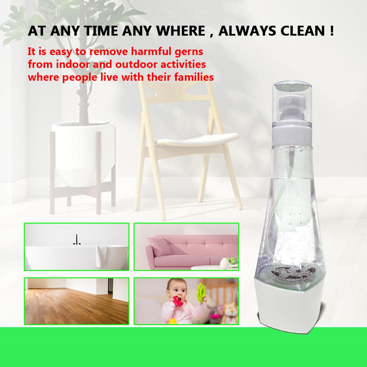 Бутылка-распылитель для дезинфекции воды, портативный, 84 дюйма, 3 минуты, дезинфекция гипохлорита натрия