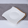 White&Gold plate