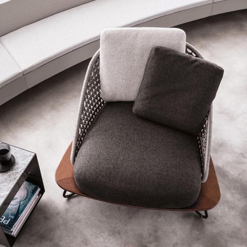 Веревочное садовое кресло, мебель, уличный диван