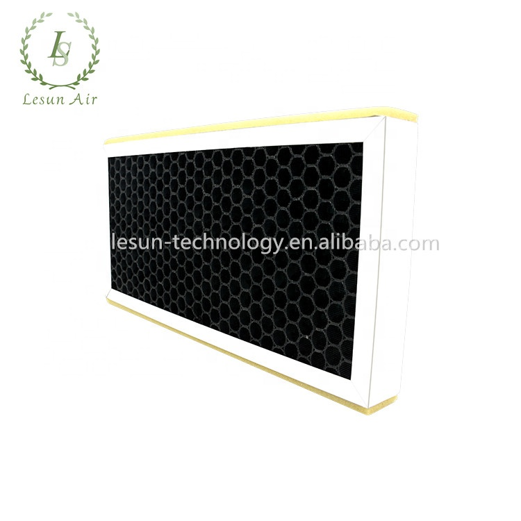 Custom 3 in 1 Composit Filter Carbon Activated Hepa Filter Home Air Filter For H11 H12 H13 H14