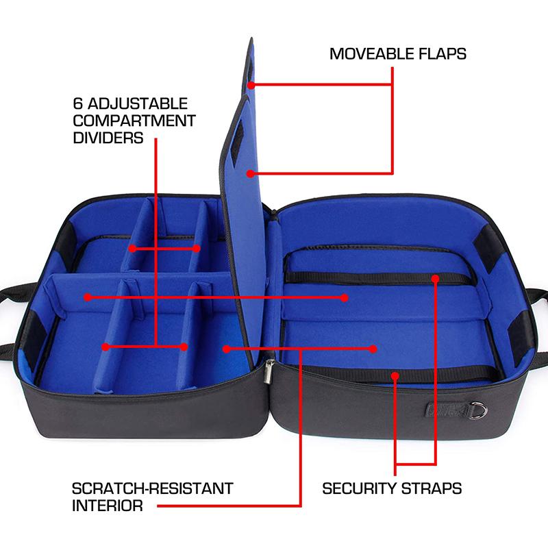 Чехол для консоли PS5 для Playstation 5 и PS5 Digital Edition с индивидуальным интерьером для контроллера Playstation