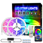 5050 RGB 16.4ft/5m 150LEDs IP20 Blueteeth Controller 44-key Remote Mobile Phone rgb controller led strip wifi