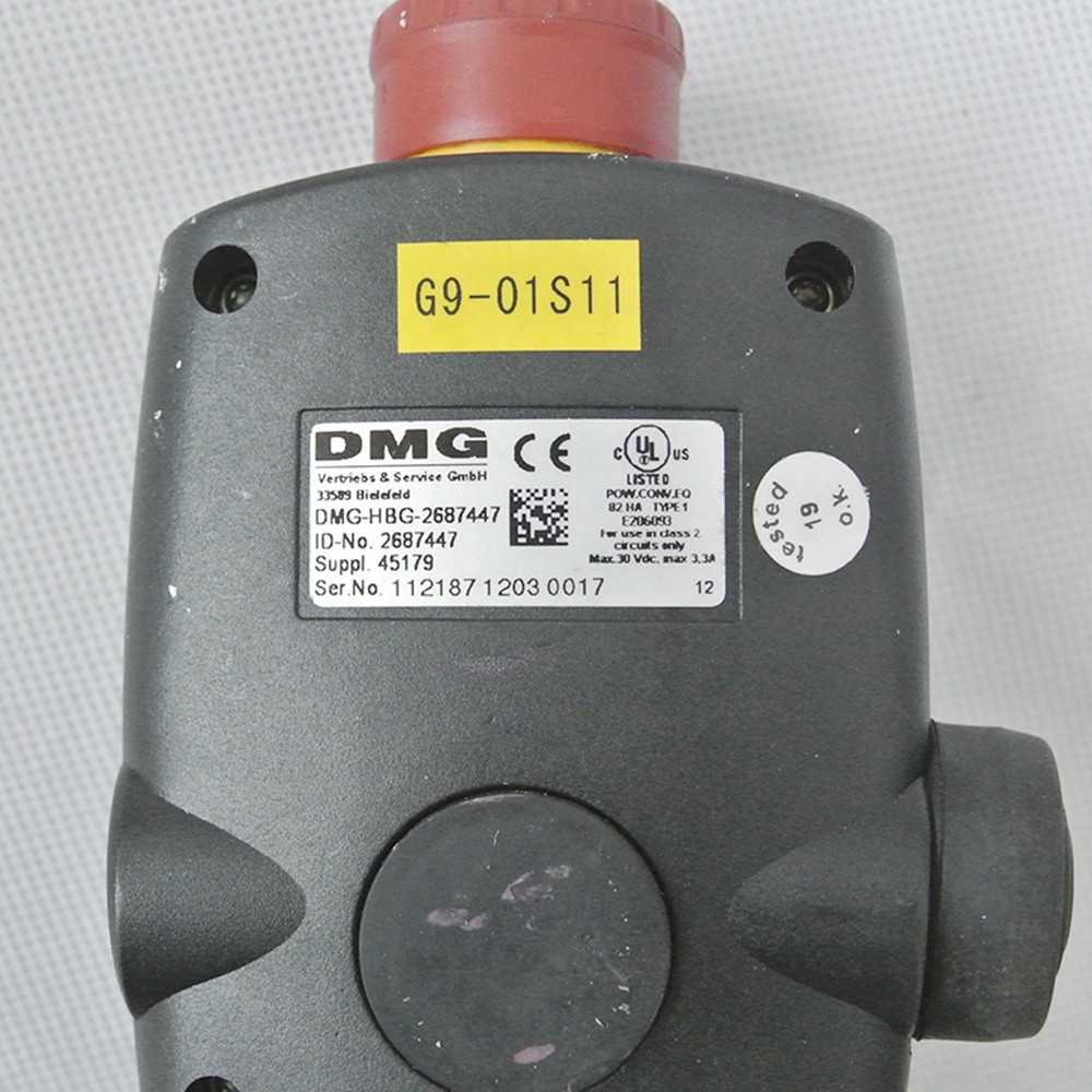 Controller DMG-HBG-2687447 DMG 5 Axis CNC machine Manual Pulse Generator