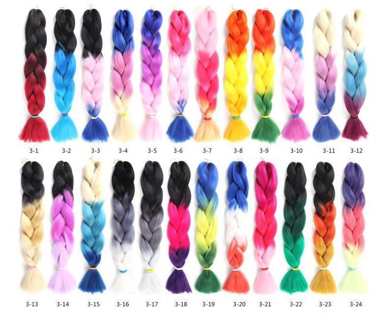 Cheap Jumbo Hair Braid Crochet Braids Hair Synthetic Braiding Hair