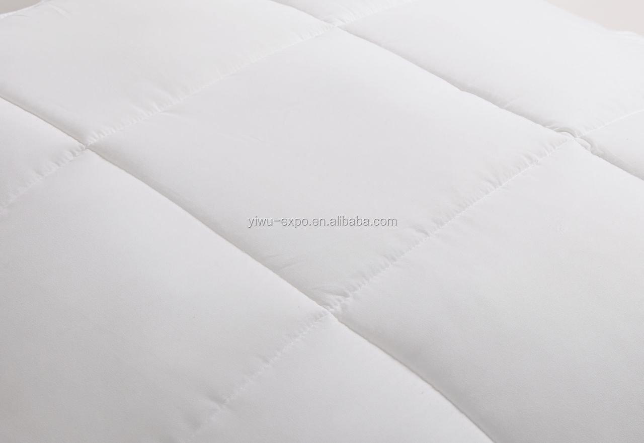 Microfiber All-Season Goose Down Alternative - Twin - Hypoallergenic - Corner Loops,Quilted Comforter & Duvet Insert