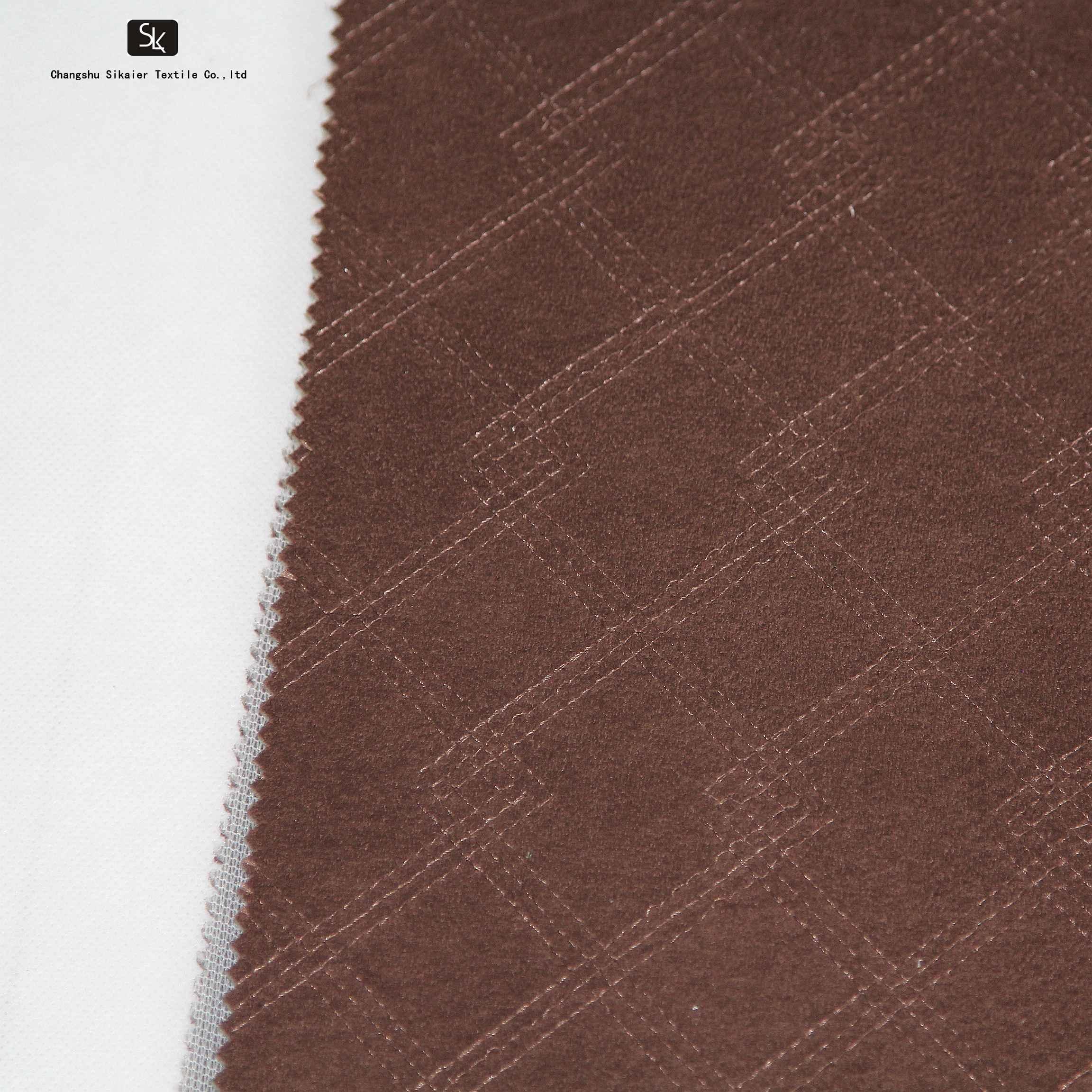Вышитая тканая Автомобильная обивочная ткань с пеной для автомобильного сиденья/Автобусного Сиденья/дивана/мебели