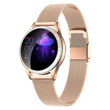 IP68 Водонепроницаемые Смарт-часы для женщин браслет сердечного ритма KW20 Smartwatch для IOS Android Модный женский фитнес-браслет VS KW10(Китай)